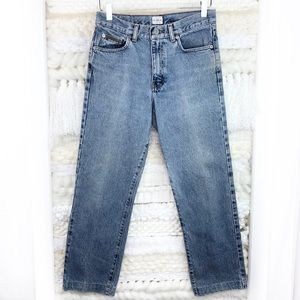 Calvin Klein Vintage Denim Straight Leg Mom Jeans